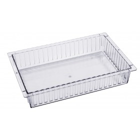 Closed ISO tray polycarbonate, transparent