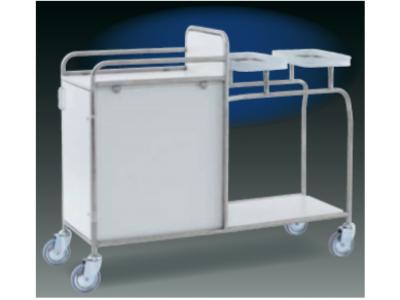 Etagenwagen mit Schrank und 2 Einspannringen