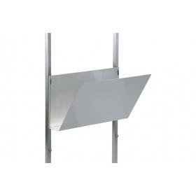 Papierablage, Edelstahl 560*250*300 mm (B*T*H)
