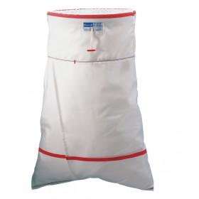 Wäschetransportsack mit beidseitigem Knebel