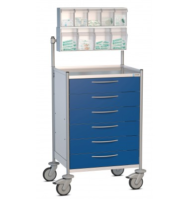 ISO Tray Cart - 1 Row for trays 600 x 400 mm