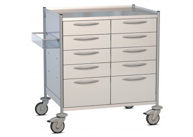 ISO Tray Cart - 2 Rows for trays 600 x 400 mm