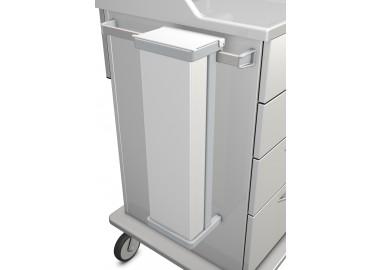 Katheterköcher mit Deckel Material: PE500/ABS