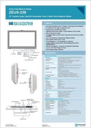 Medical Panel PC Zeus