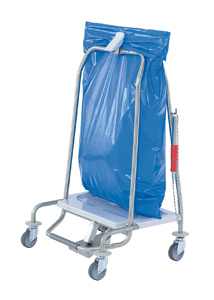 Abfallsammler Clappy für die gelungene Abfallentsorgung im Krankenhaus