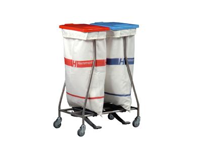Wäschesammler mit Säcken