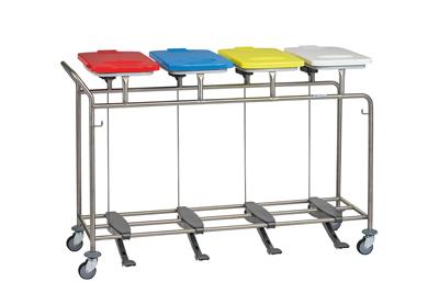 Wäschesammler vierfache Ausführung