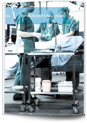 ZSVA-Ausstattung für Krankenhäuser