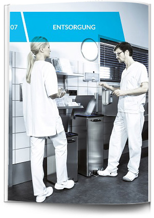 Abfallentsorgung im Krankenhaus - Abfallsammer und Abfalleimer für Krankenhausabfälle