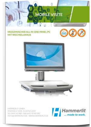Medizinischer Panel-PC für die Mobile Visite im Krankenhaus