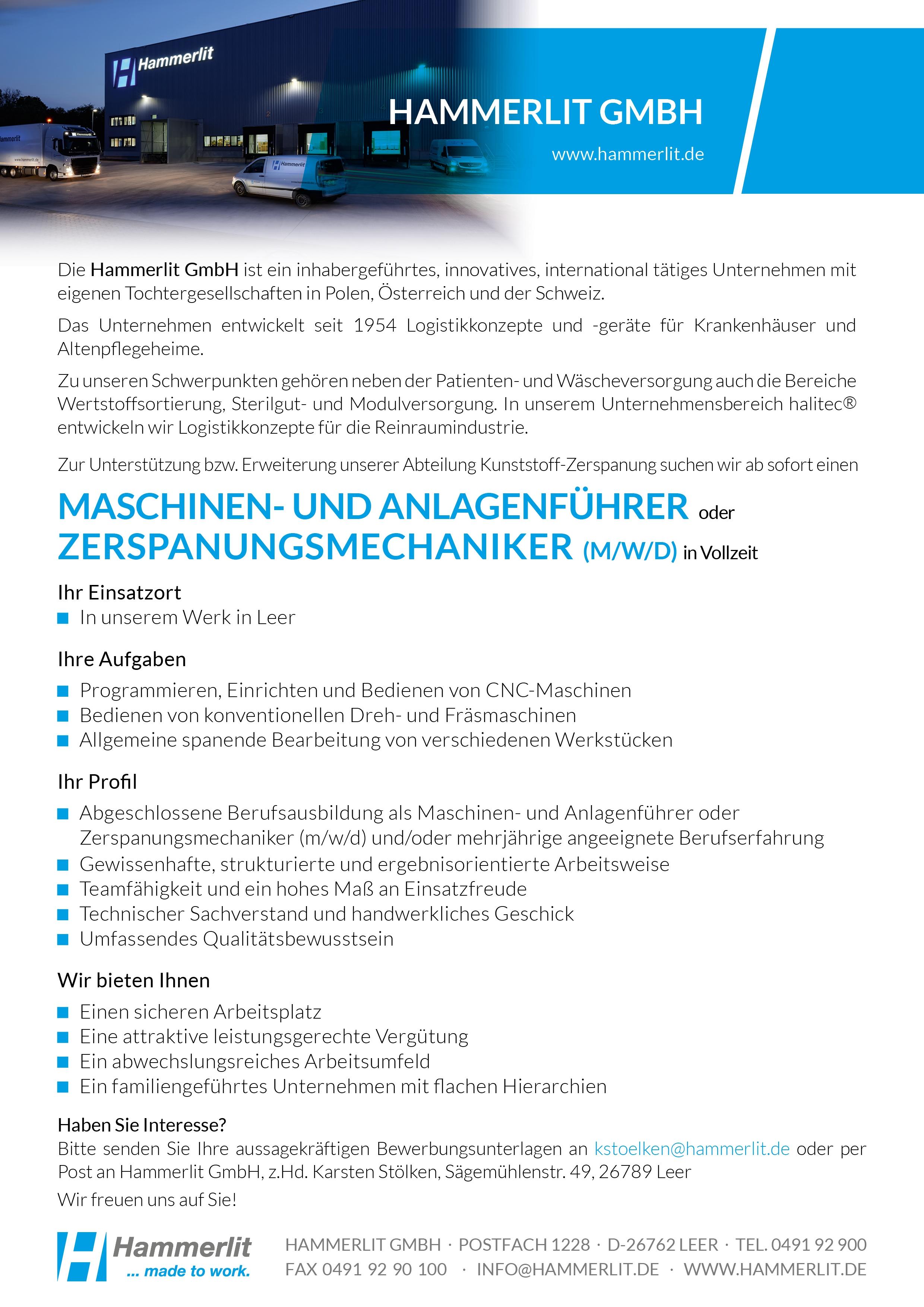 Zerspanungsmechaniker_Hammerlit GmbH